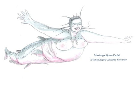 Mississippi Queen Mermaid