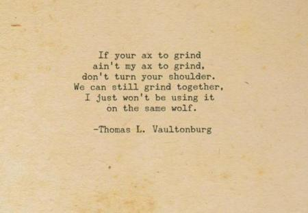 Poem Thomas Vaultonburg