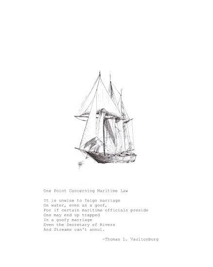 Maritime Law by Thomas L. Vaultonburg